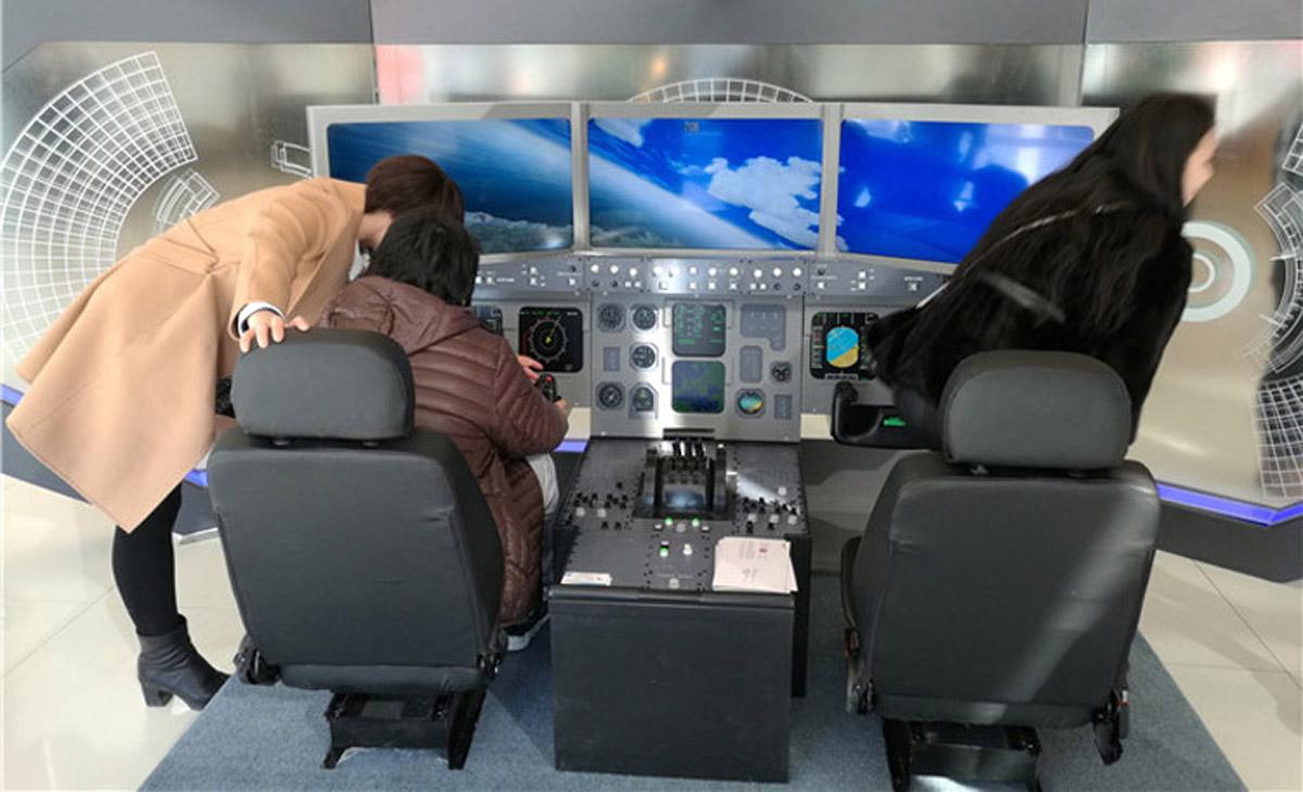 重庆市AR戒毒空客飞行模拟器