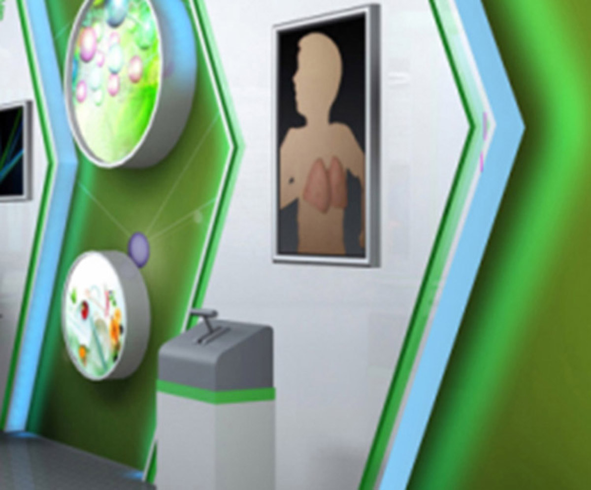 尚义县AR戒毒吸烟与健康展示设备