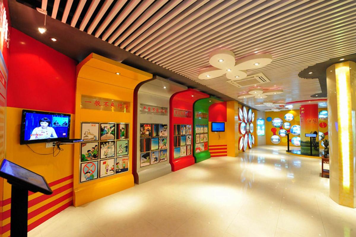 重庆市AR戒毒声光电结合禁毒教育展览馆