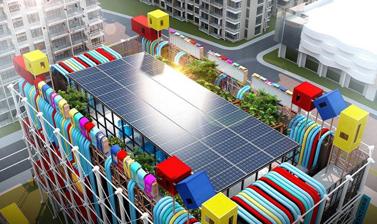 无极县AR戒毒太阳能光伏发电体验