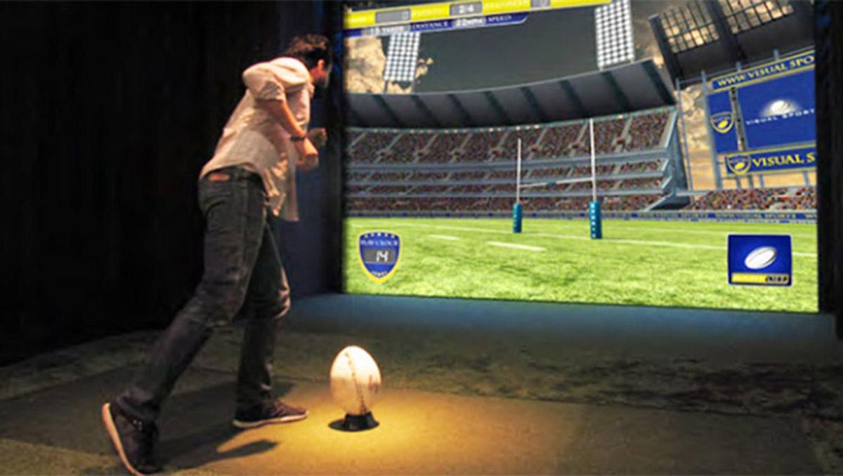 天涯区AR戒毒虚拟英式橄榄球体验