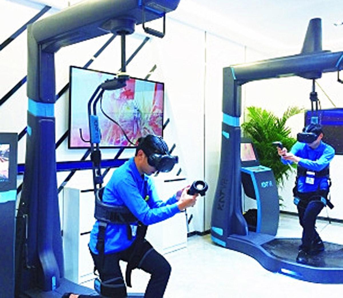 河间市AR戒毒虚拟现实体验馆
