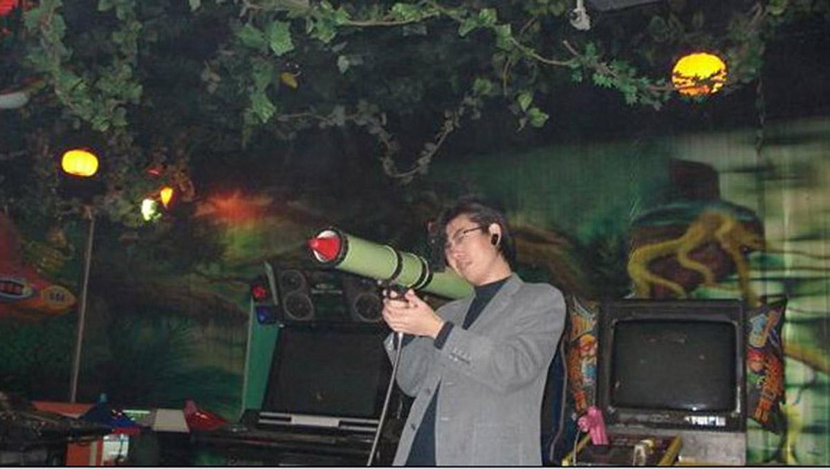 无极县AR戒毒模拟火箭筒