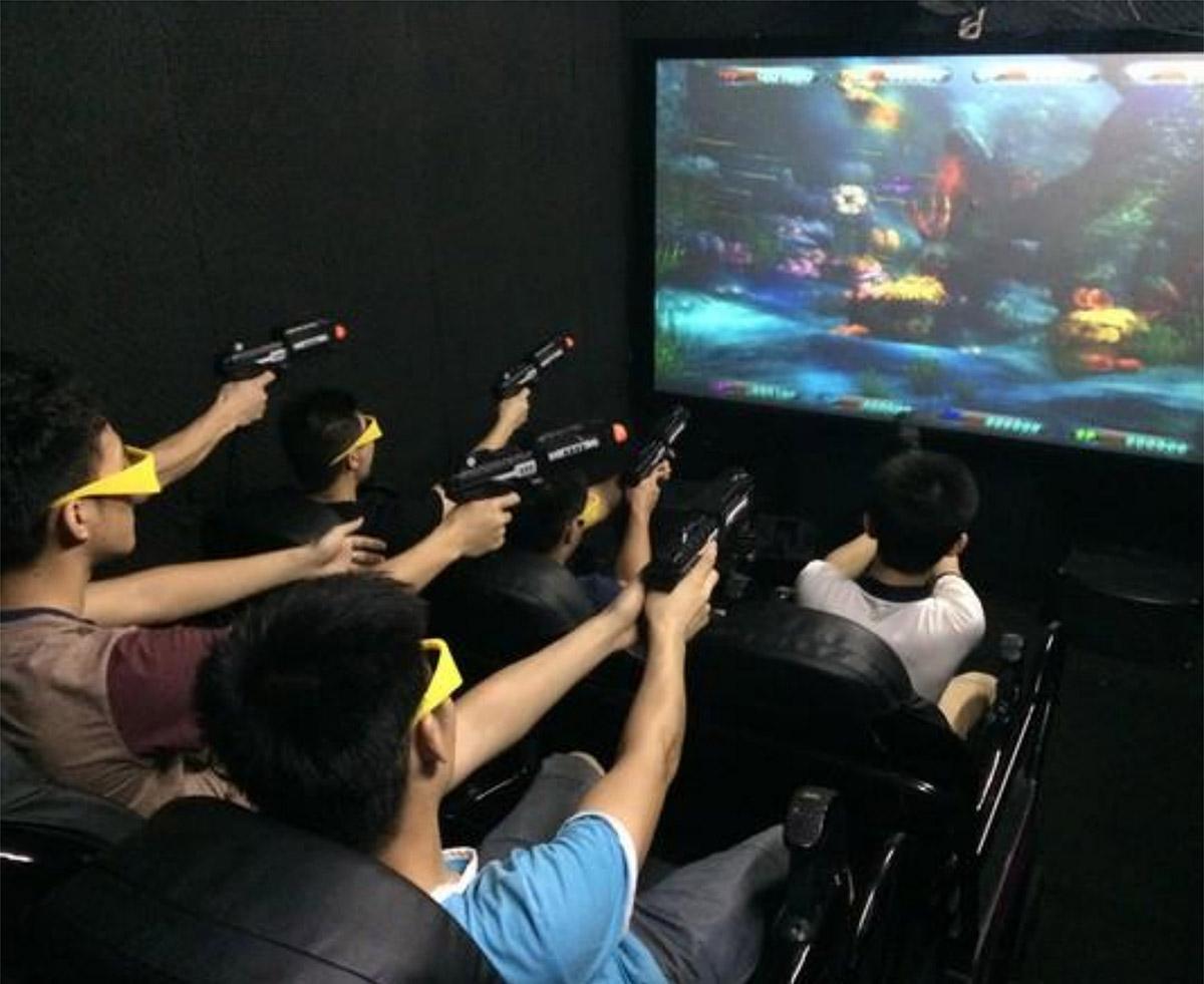 静乐县AR戒毒7D对战互动游戏影院