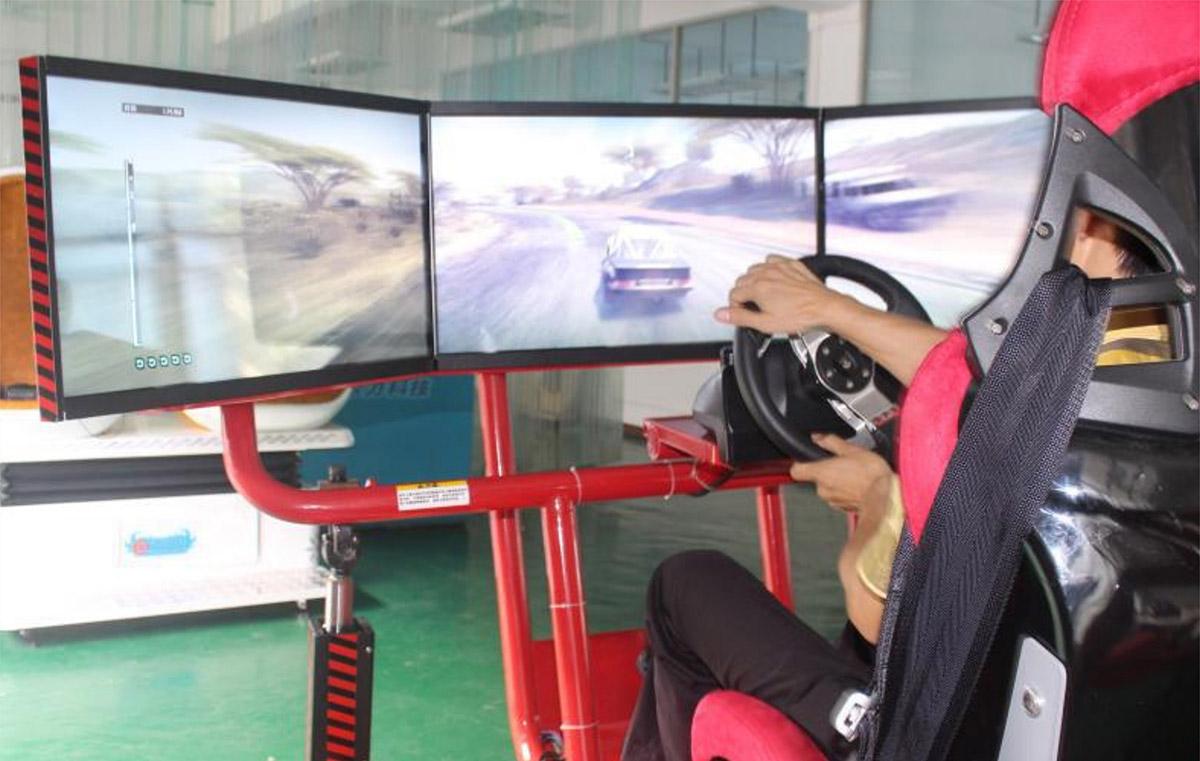 邯郸市AR戒毒F1三屏实感模拟赛车